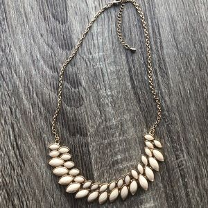Francesca's Gold Statement Necklace